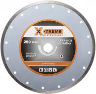 Диск алмазний відрізний X-Treme 1A1R 250x2,5x25,4 кераміка XT-110125