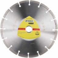 Диск алмазний відрізний Klingspor Extra  230x2,4x22,2 універсальний DT300U