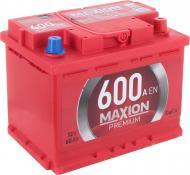 Акумулятор автомобільний MAXION Premium 6СТ - 60 А2E 600 R 60А 12 B «+» праворуч