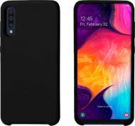 Чохол захисний Intaleo (Velvet) для Samsung A50 black силіконовий
