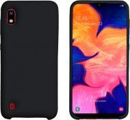 Чохол захисний Intaleo (Velvet) для Samsung A10 black силіконовий