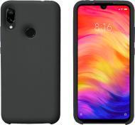 Чохол захисний Intaleo (Velvet) для Xiaomi Redmi Note 7 black силіконовий