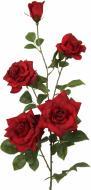 Рослина штучна Троянда червона 1545 RED