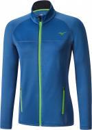 Термокофта MIZUNO BT Fleece Jacket р. L блакитний із салатовим J2GE5502
