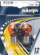 Лампа розжарювання Narva PY21W (17638.2B) PY21W BAU15s 12 В 21 Вт 2 шт