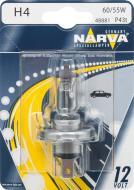 Лампа галогенна Narva 48881 H4 H4 P43t 12 В 60/55 Вт 1 шт