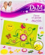 Набір для вишивання D&M Весна панно з фетру 48112