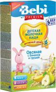 Каша молочная Bebi Овсяная с бананом и груше 3838471035545 200 г