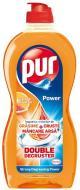 Засіб для ручного миття посуду Pur Power Апельсин і грейпфрут 0,450л