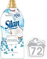 Кондиціонер для білизни Silan Аромат кокосовой воды и Минералы 1,8 л