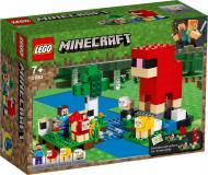 Конструктор LEGO Minecraft Ферма вовни 21153