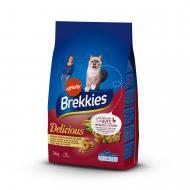 """Корм Brekkies """"Delice Meat"""" для дорослих котів 3 кг"""