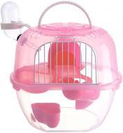 Клітка для гризунів Apple Style 20,5х18х22,5 см рожева Р 938
