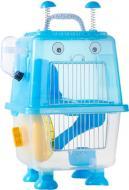 Клітка для гризунів Robotic 20,7х19х36 см блакитна Р 988