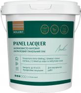 Лак Panel Lacquer база ЕP Kolorit шовковистий мат 2 л безбарвний