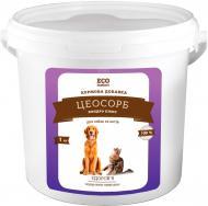 Кормова добавка ECO Instinct Цеосорб Хондро Плюс для собак і котів 1 кг