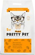 Наповнювач для котячого туалету ECO Instinct Pretty Pet Max двокомпонентний 5 кг