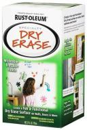 Декоративна фарба Rust Oleum Dry Erase маркерная краска білий 0,797 л 1кг
