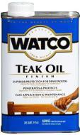 Тиковое масло WATCO бесцветный 0,946 л 1 кг