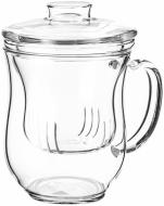 Чашка с заварником Душевность 400 мл Чайна країна