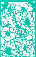 Трафарет багаторазовий самоклейкий Фоновий №1000 серія Квіти 130x200 мм Rosa Talent