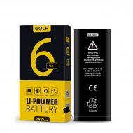 Аккумулятор GOLF Li-polymer для iPhone 6S Черный (38-SAN349)