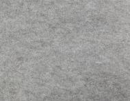 Фетр сірий меланж,  1 мм, 42,5x33 см