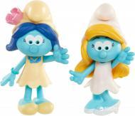 Набор фигурок Jakks Pacific 96566 Smurfs Smurfette and Smurfblossom 2 шт.