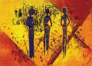 Картина Три африканки 59,4x42 см