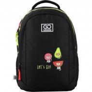 Рюкзак школьный GoPack Education 133-1 Bright cats 44616