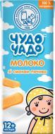 Коктейль молочний Чудо-Чадо Молоко з печивом TBA Slim 200 мл