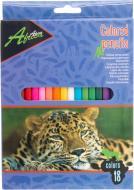 Олівці кольорові Africa E11611 18 шт. Economix
