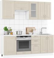 Кухня модульна Дуб Цинамон МДФ 2,1 м