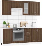 Кухня модульна Коріандр МДФ 2,1 м