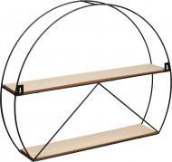 Полиця декоративна Півсфера 50х10х43 см