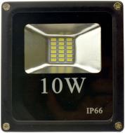 Прожектор Светкомплект FLS-10 6500 К LED 10 Вт IP65 чорний