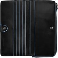 Портмоне Piquadro 10x19x2,5 см чорний AS458B2/N