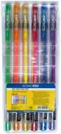 Набір ручок гелевих Economix NEON 6 кольорів