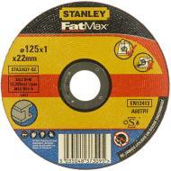 Круг відрізний по металу Stanley DPC  125x1,0x22,2 мм STA32637