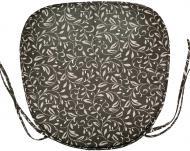 Подушка на стілець трапеція 40х40х2 коричнева