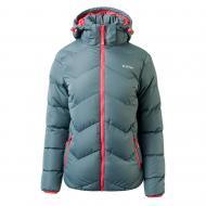 Куртка Hi-Tec Lady Safi IRON GATE/HOT CORAL L Серый (5902786005536-L)