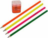 Набір олівців Чорнографітних 5 шт з чинкою Economix