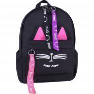 Рюкзак дитячий Bagland Meow чорний 322 (51766)