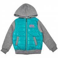 Куртка детская для девочки AKKUZU kids 8022 д/д р.110-116 бирюзовый