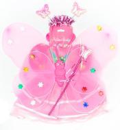 Костюм дитячий карнавальний рожевий 513542