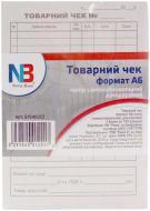 Товарний чек А6 папір самокопіювальний двошаровий 300 арк NOTA BENE