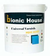Лак меблевий Bionic House мат 2,5 л 2,5кг