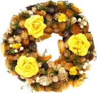 Вінок Blooming Фіолетово-жовтий 70960082