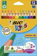 Карандаши цветные Evolution Треугольные BIC