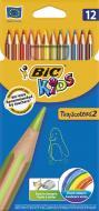 Олівці кольорові Tropicolors BIC